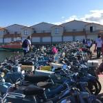 l'arrivée à l'Ile d'yeu Grand Prix Meule Bleue 2015