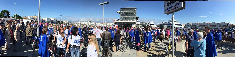 Grand Prix Meule Bleue - arrivée à Port Joinville